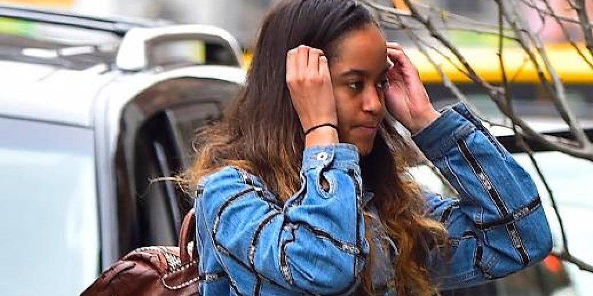Las 'comprometedoras' fotos de la hija de Barack Obama