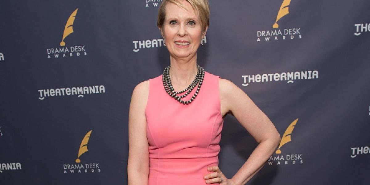 La actriz de 'Sex and the City' que aspira a gobernadora de Nueva York