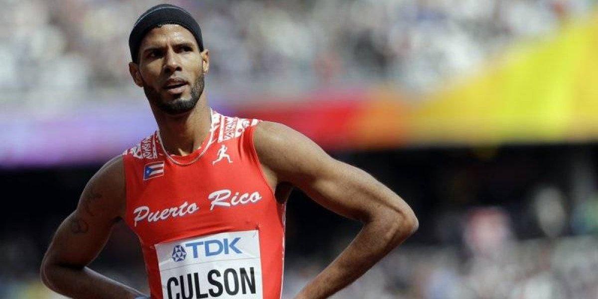Culson alega que corrió enfermo en el Mundial de Atletismo