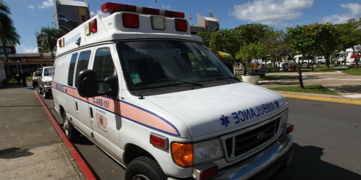 Reportan incidente con agente en vehículo de la Unidad Marítima en Ceiba