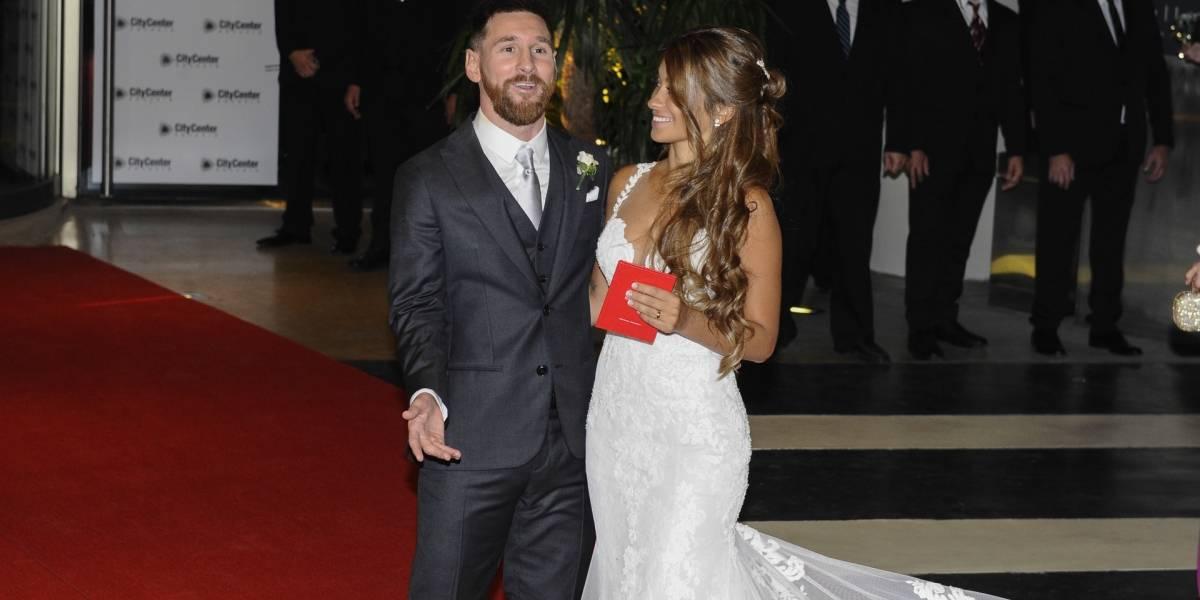 """Invitados a la boda de Messi dieron regalos """"miserables"""""""