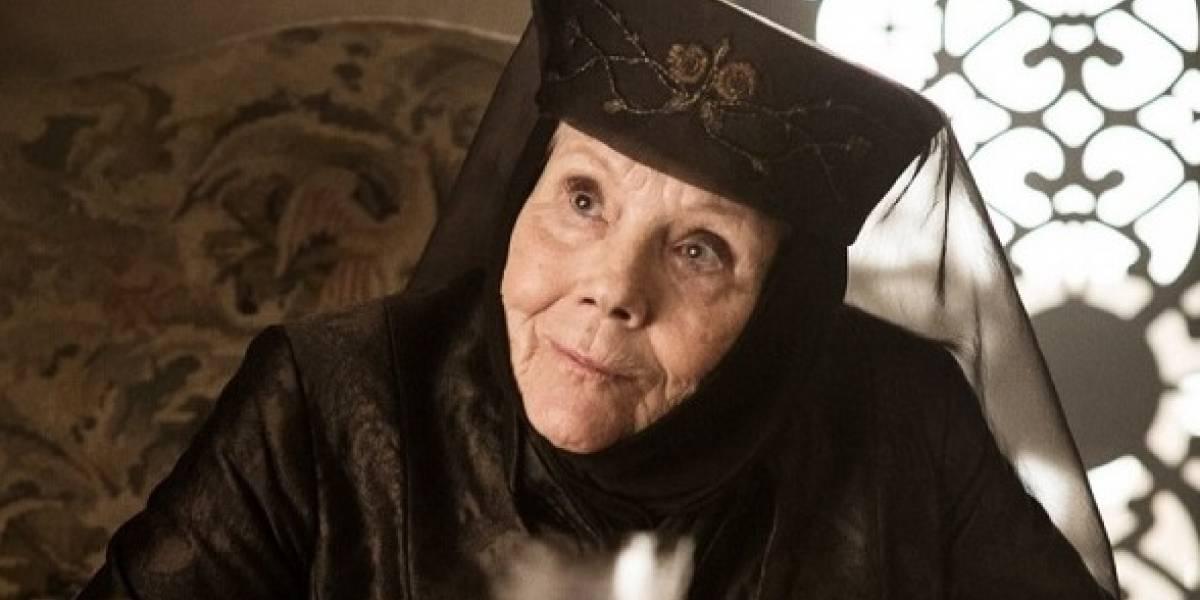 Así era Olenna Tyrell de 'Game of Thrones' cuando era joven