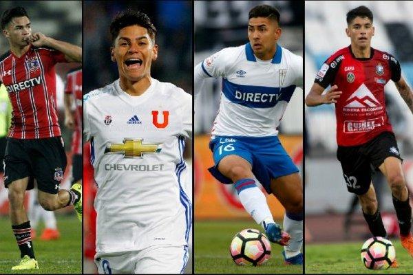 Suazo, Leiva, Vargas, Araos y Aránguiz son algunos de los Sub 20 que darán que hablar en el torneo /Photosport