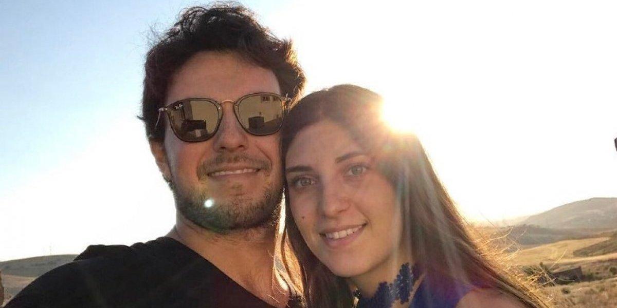 FOTO: Checo Pérez y Carola presumen su embarazo