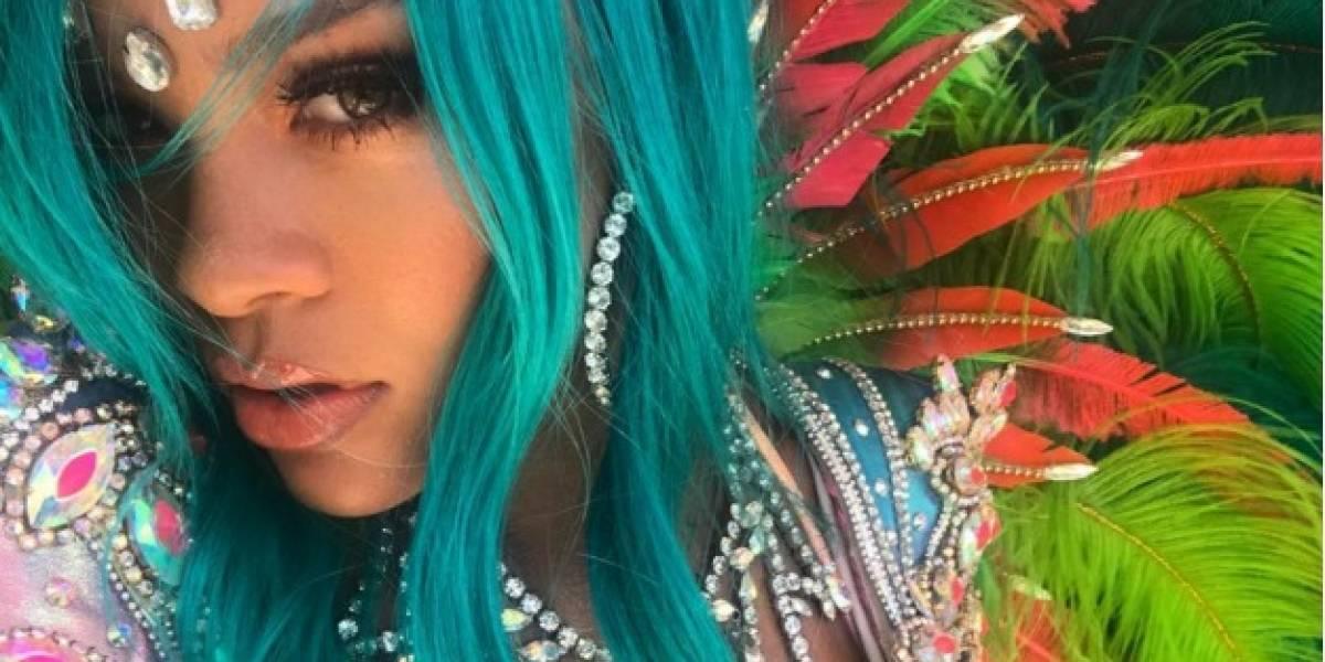 Rihanna 'sacude' las redes con cambio de look
