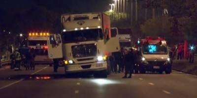 No Rio, motorista de caminhão roubado é libertado nesta madrugada