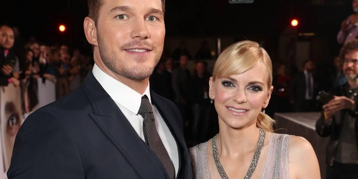 Chris Pratt y Anna Faris anuncian su divorcio