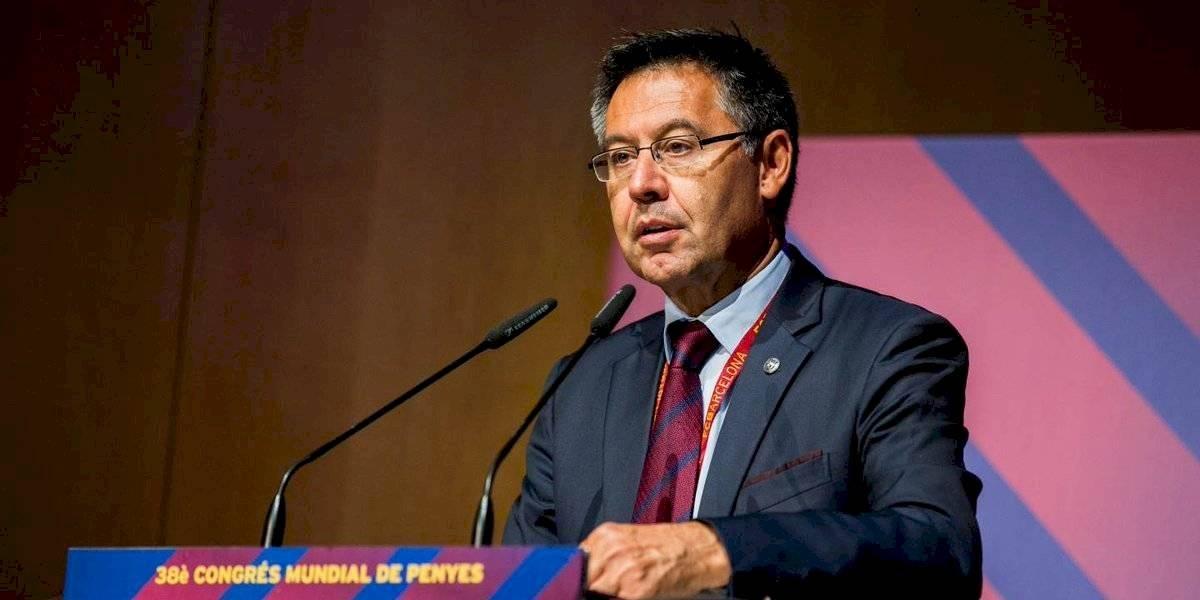 Barcelona niega contratación de servicios para criticar a jugadores y opositores