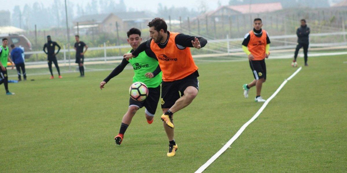 ¿Debut ante U. de Chile? Rojas quedó habilitado en San Luis