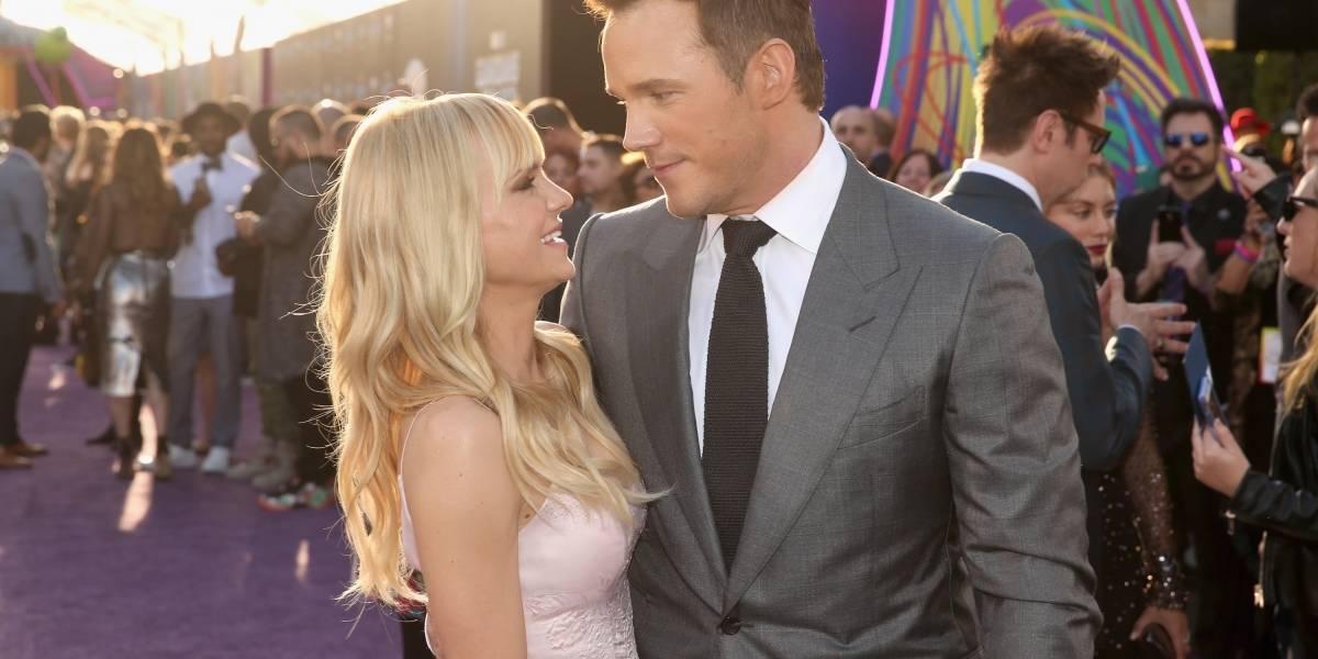 Tras ocho años de matrimonio Chris Pratt y Anna Faris se separan