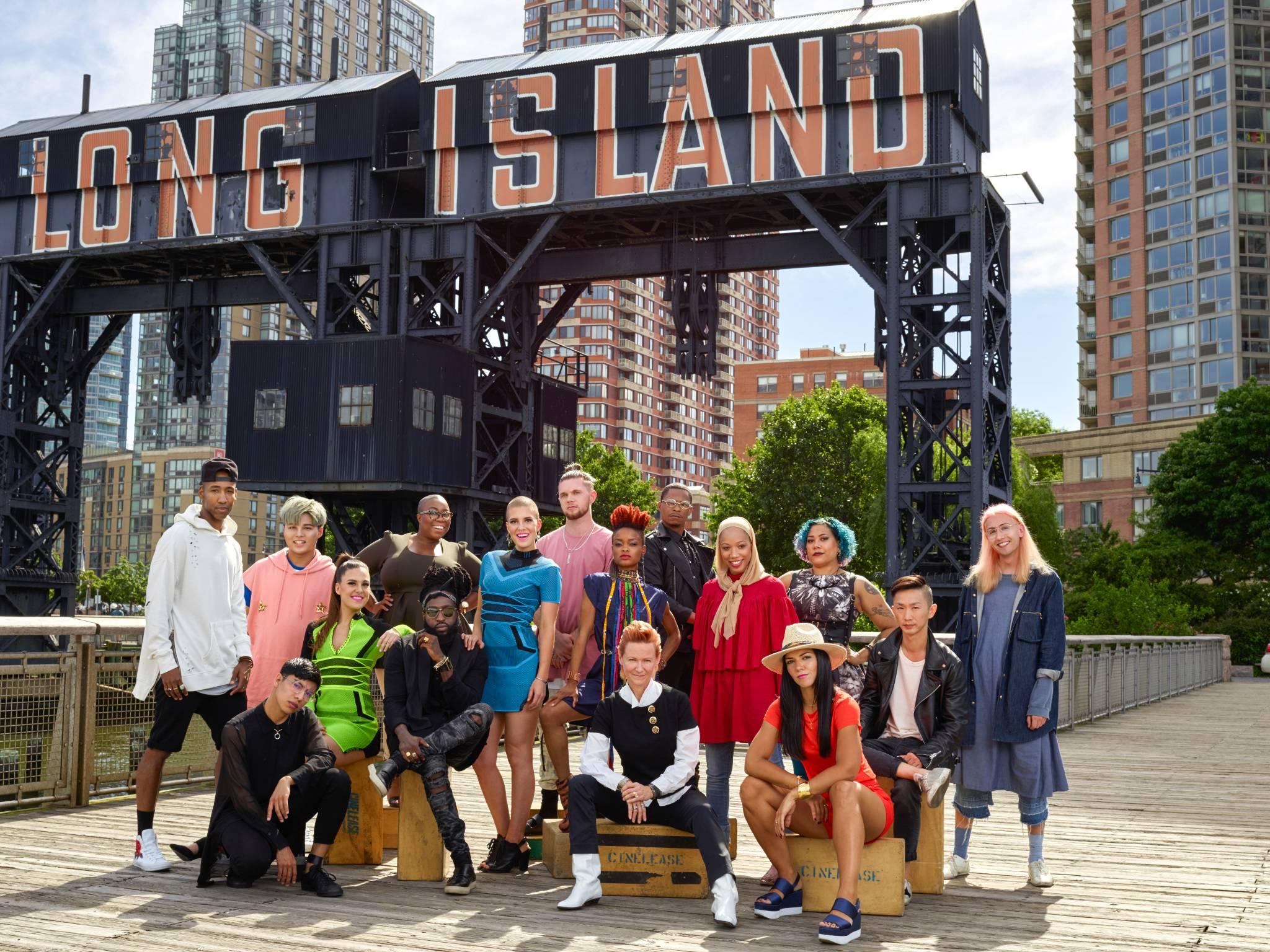 Los 16 participantes de la nueva temporada de Project Runway. / Foto: Suministrada
