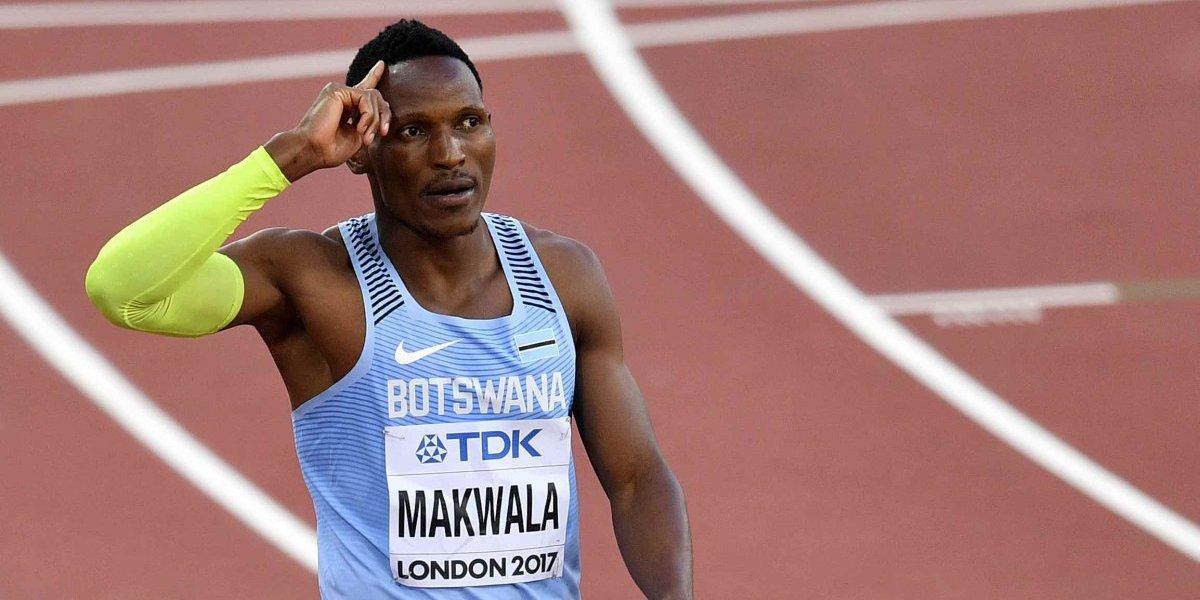 Atletas en Mundial, incluido Makwala, enferman por alimentos