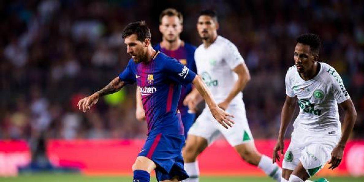 Barcelona golea al Chapecoense y se queda con el Trofeo Joan Gamper