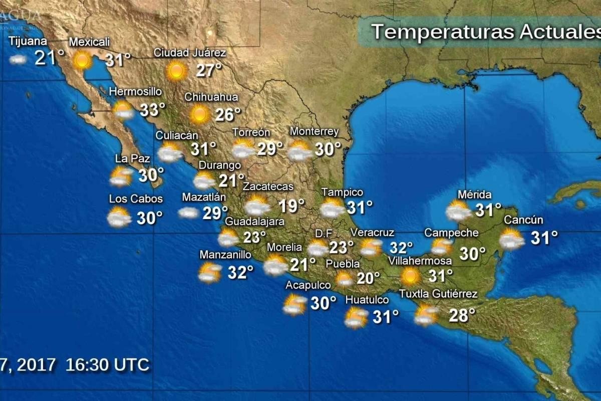 Pron stico del tiempo para este lunes 7 de agosto for Pronostico del tiempo accuweather