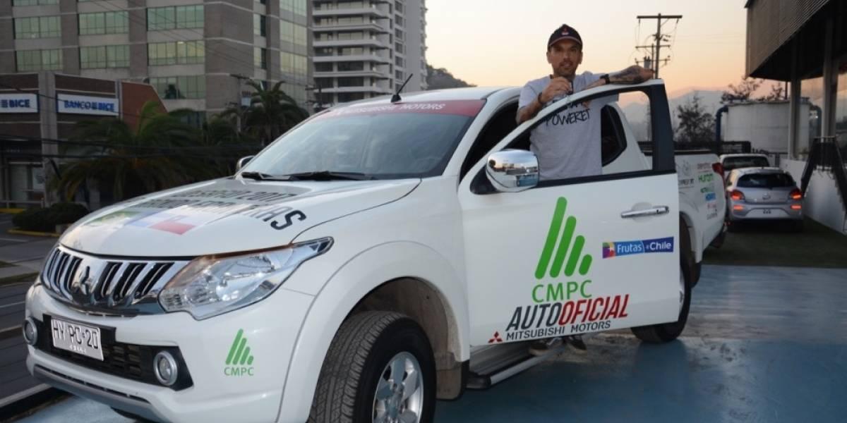 Con la ayuda de Mitsubishi, Matías Anguita inicia nueva aventura