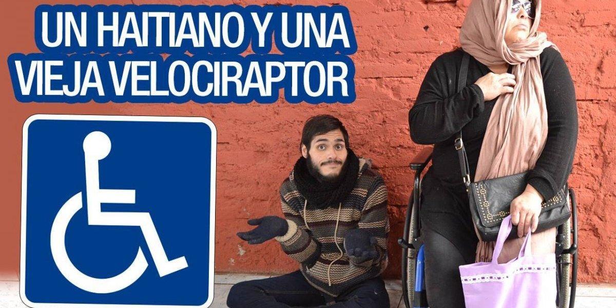 """Mauricio Riffo, el primer """"youtuber discapacitado de Chile"""" que la rompe con hilarante video en la web"""