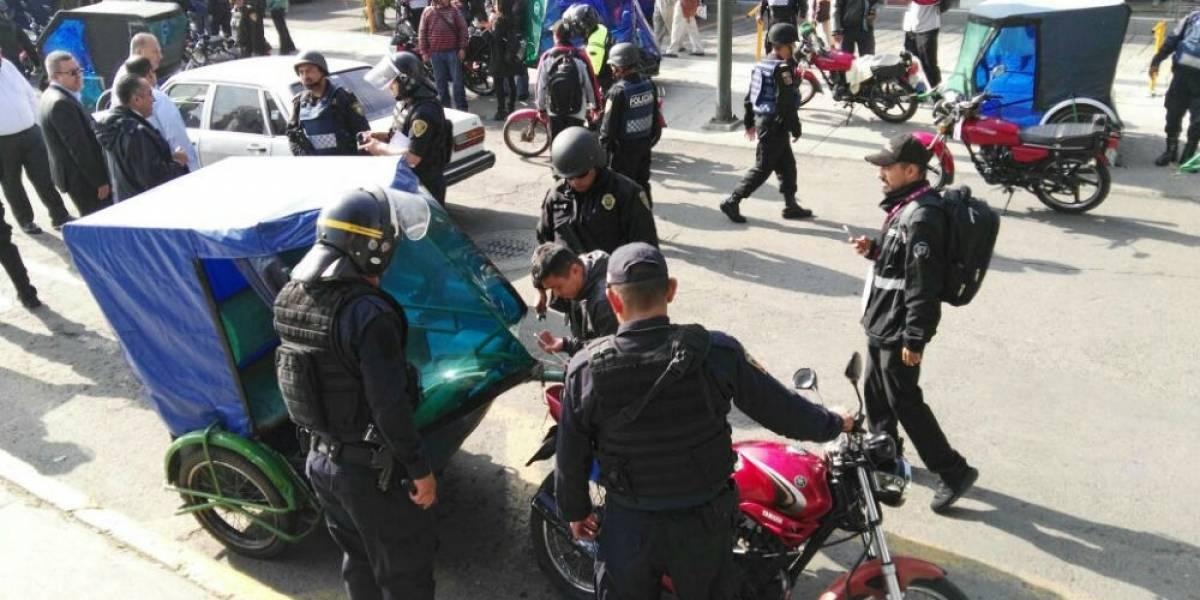 Operativos contra mototaxis seguirán, aclara Semovi