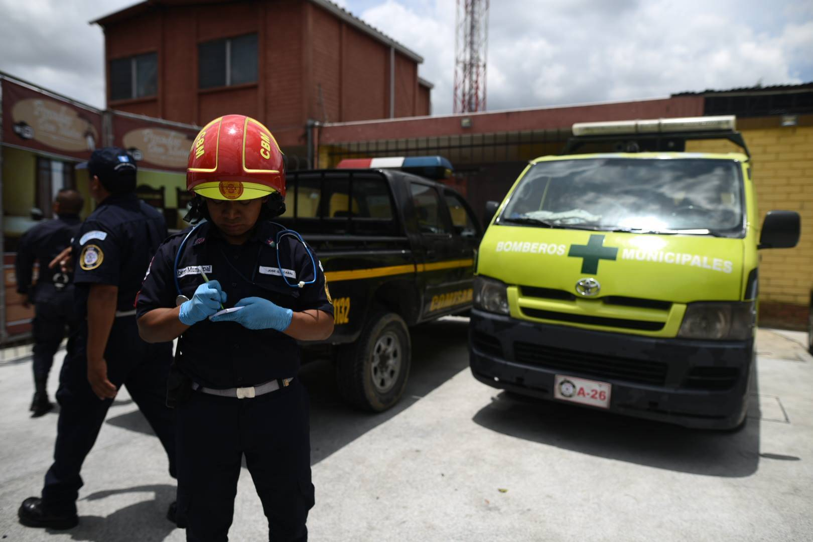 Mujer fallecida en hotel en zona 7. Edwin Bercián