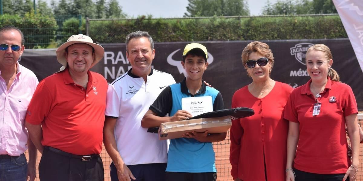 Finaliza la tercera etapa del Rafa Nadal Tour México