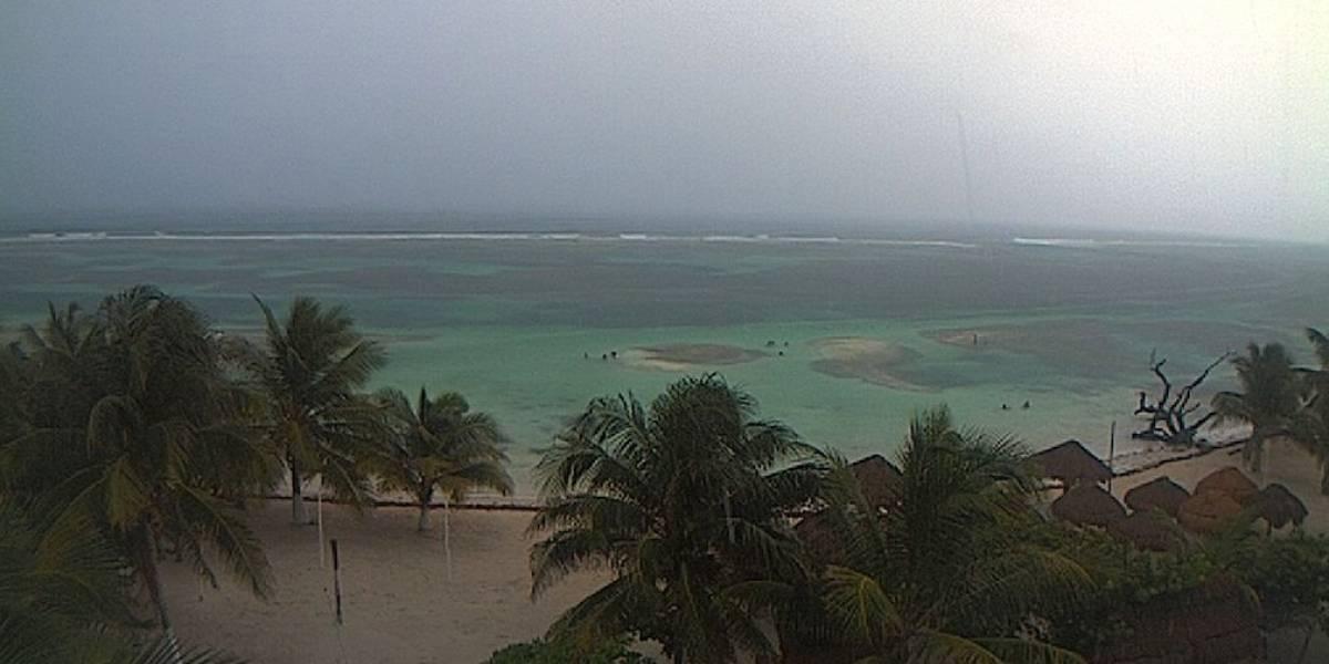 Se activa alerta roja en Quintana Roo por impacto de 'Franklin'