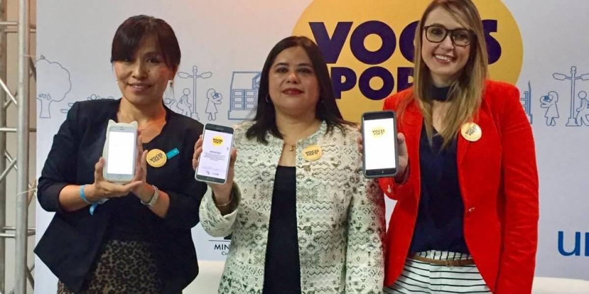 """""""Voces por ti"""", una app guatemalteca para reportar situaciones de violencia contra la niñez"""