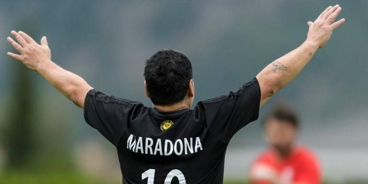 """""""Viva la revolución"""": Maradona sale en apoyo de Maduro y hasta se ofreció de """"soldado"""""""