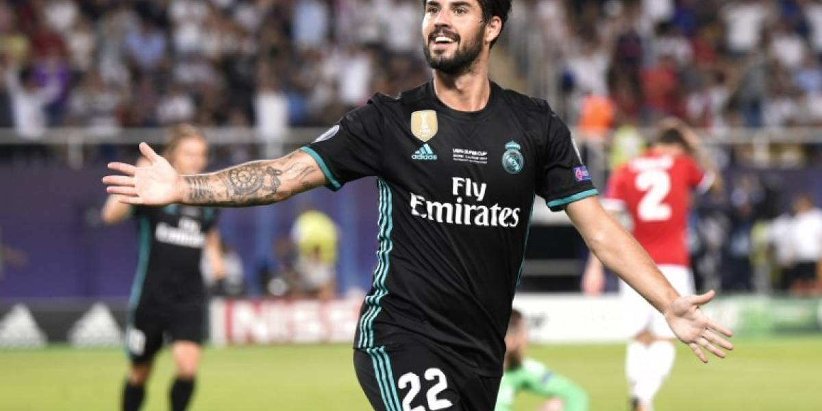 Real Madrid arranca con el pie derecho la temporada al quedarse con la Supercopa de Europa