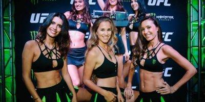 Monster Girls presentes en la UFC México