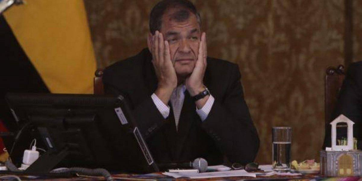Expresidente Correa respondió en Twitter al Presidente Moreno