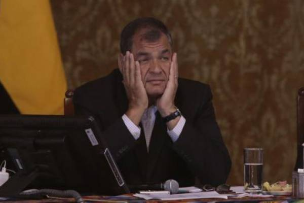 Expresidente Rafael Correa criticó al presidente Lenín Moreno a través de Twitter