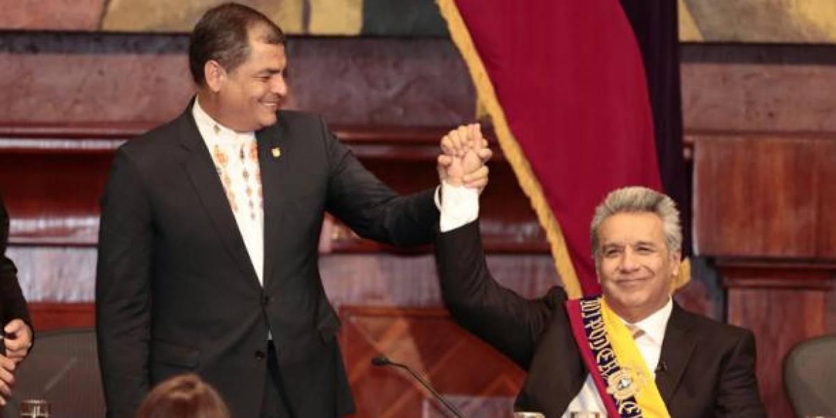 Rafael Correa critica las medidas de Lenin Moreno