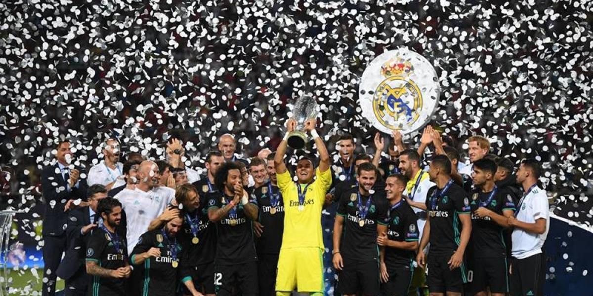 Real Madrid gana sin despeinarse la Supercopa de Europa