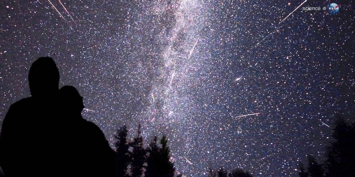 Invitan a ver impresionante lluvia de estrellas fugaces