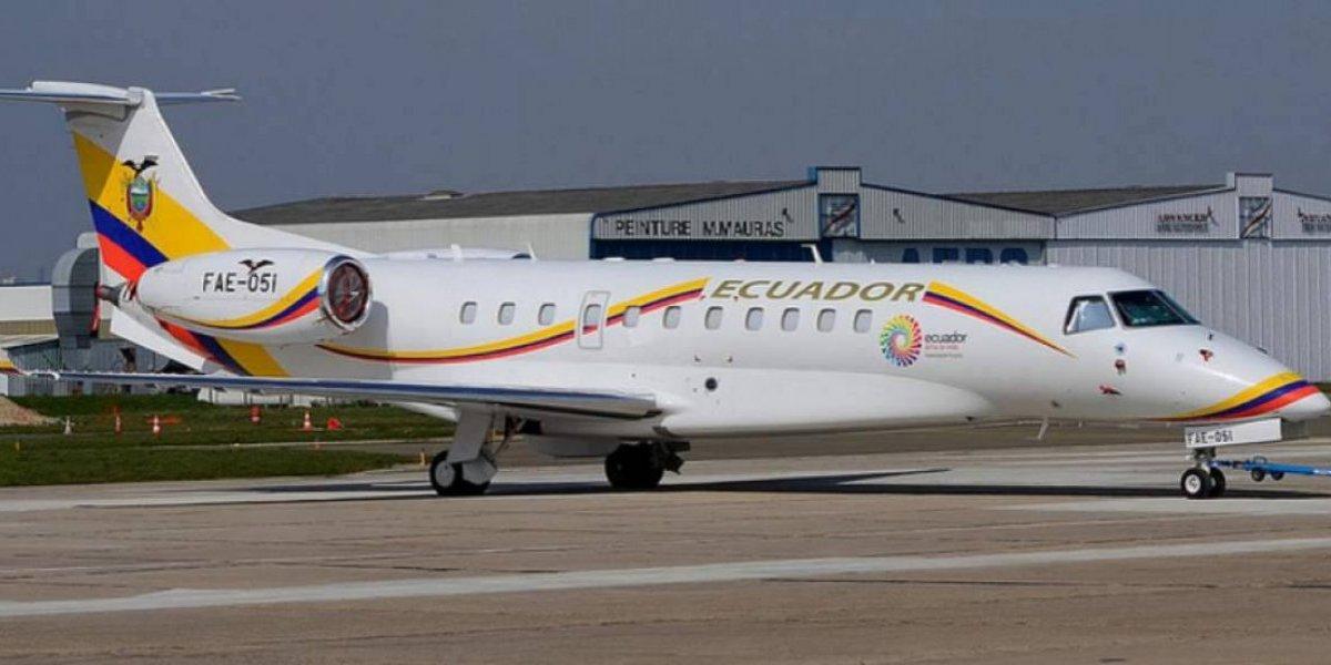 Asambleísta socialcristiano denuncia mal uso del avión presidencial durante el Gobierno de Rafael Correa