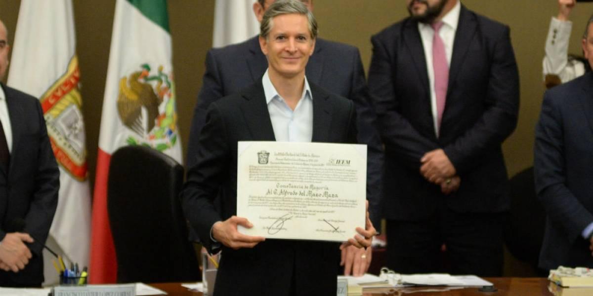 Alfredo del Mazo ya es gobernador electo del Estado de México