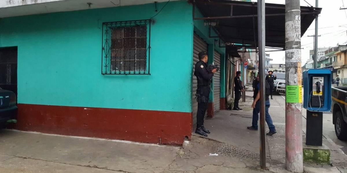 PNC decomisa dinero y celulares en operativo contra extorsiones en Villa Nueva