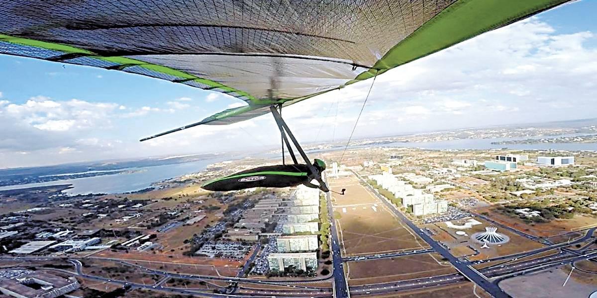 Brasília vira palco de Campeonato Mundial de Asa-Delta