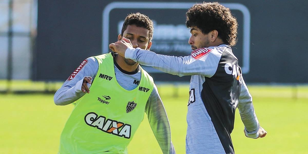 Luan é a novidade da lista de relacionados do Atlético-MG para enfrentar o Santos