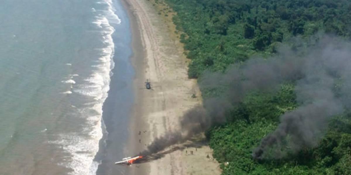 Fuerza Aérea derribó aeronave que ingresó ilegalmente a Colombia