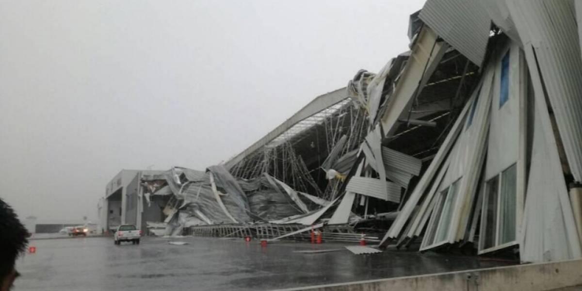Aeropuerto del Norte reanuda operaciones tras mal clima
