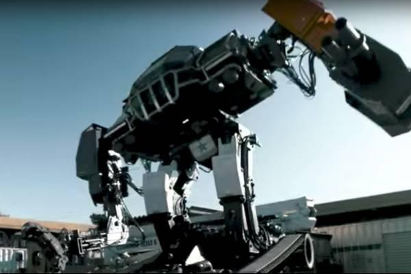 El robot de combate de EE.UU., listo para su primera pelea