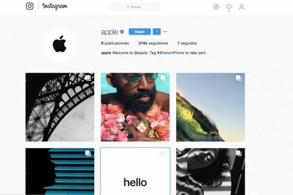 Fotos de usuarios pueden aparecer en Instagram de Apple
