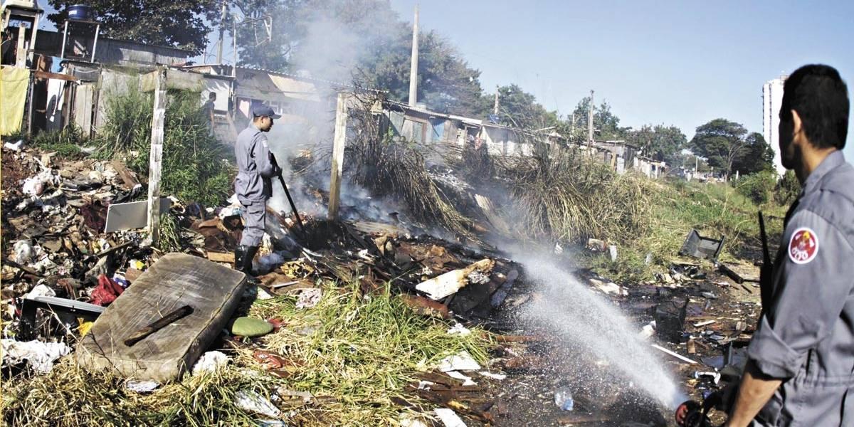Seca histórica em Campinas faz julho explodir em queimadas