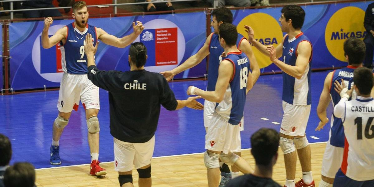 Chile venció a Uruguay y avanzó a semifinales en el Sudamericano de Vóleibol