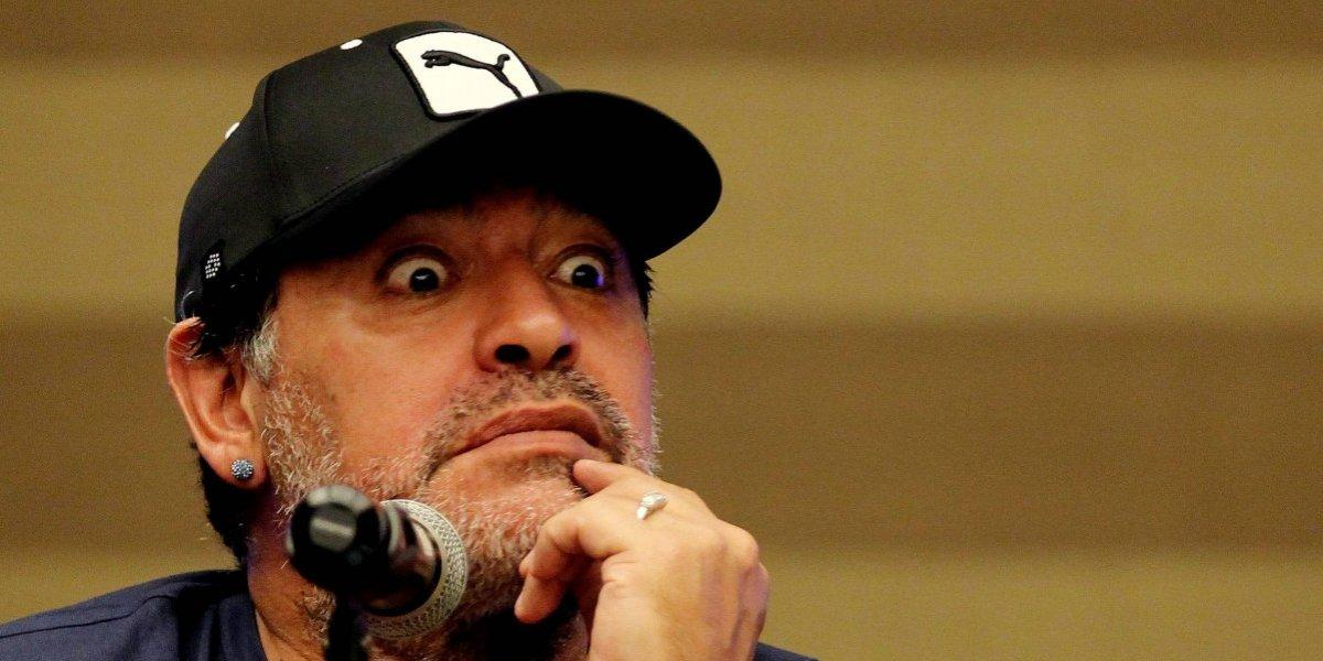 Diego Armando Maradona es otra de las sorpresas en la Noche Amarilla