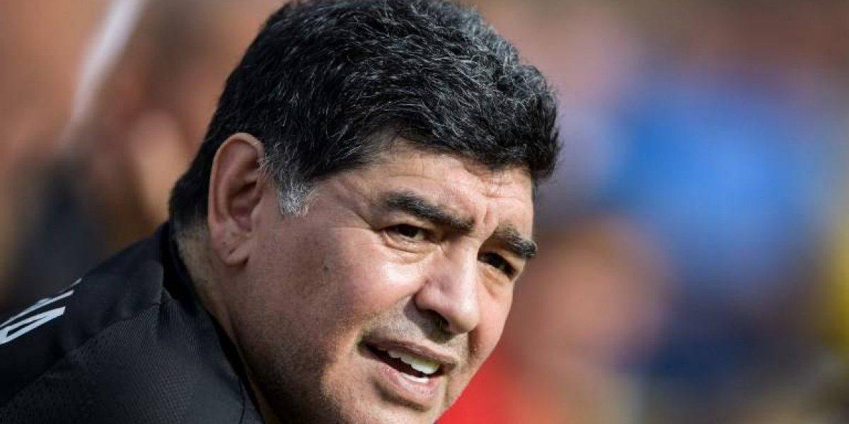 """Maradona: """"Cuando Maduro ordene, me visto de soldado contra el imperialismo"""""""