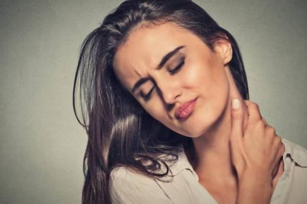 Sensacion de tension en el cuello
