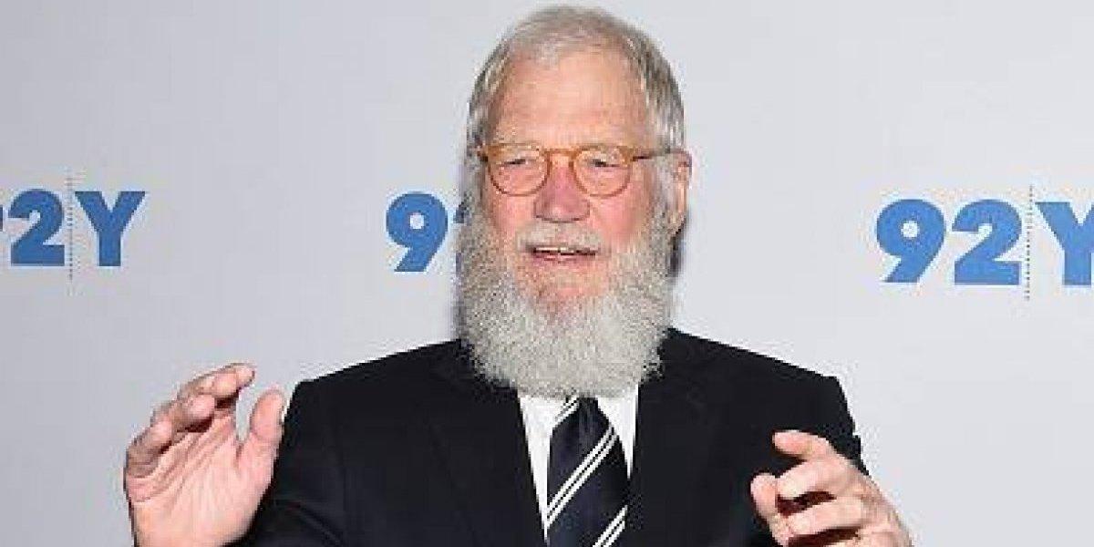 David Letterman tendrá en Netflix para un programa de entrevistas