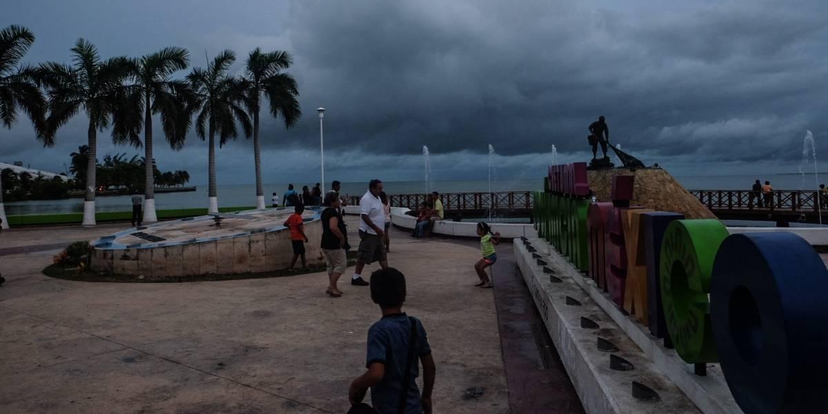 Tormenta tropical Franklin provocará lluvias en el sureste del país
