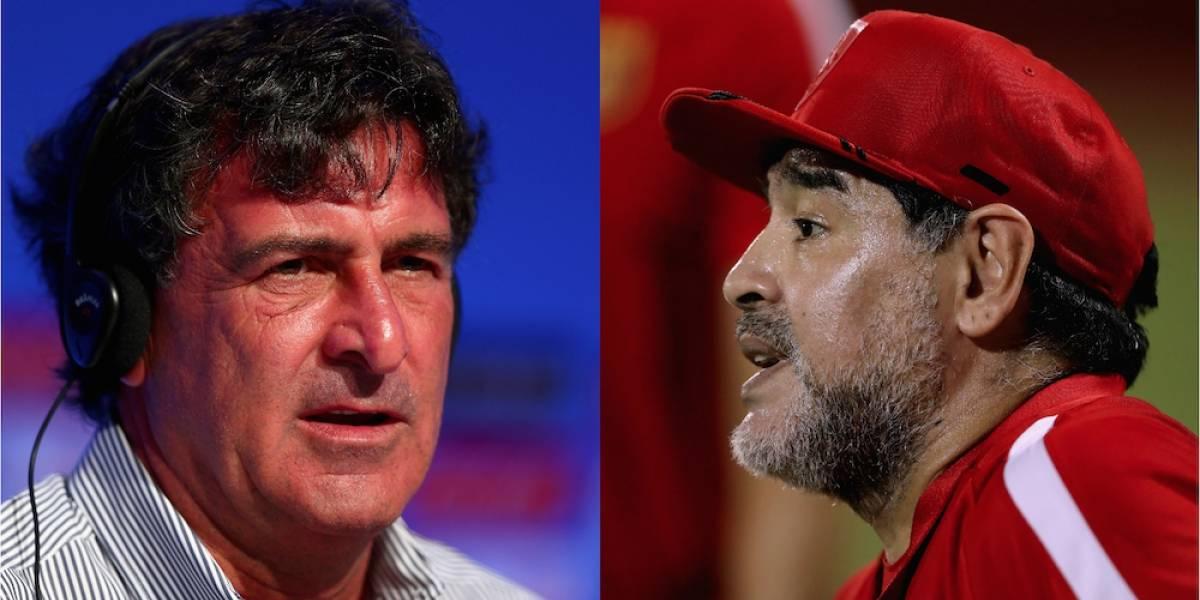 Mario Kempes critica postura de Maradona respecto a Venezuela